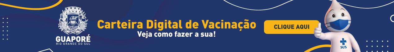 Carteira digital de vacinação